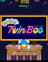 Detana!! TwinBee Arcade title screen