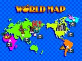 New Atomic Punk: Global Quest Arcade World map (Japanese)