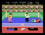 Champion Boxing Arcade You knocked him down.