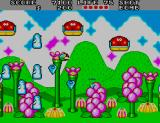 Fantasy Zone II Arcade Behind you.