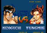 Fighter's History Dynamite Arcade Next Fight.
