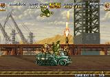 Metal Slug 4 Arcade Fight on truck