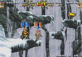 Metal Slug 4 Arcade Jumping on rocks
