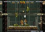 Metal Slug 4 Arcade Elevator fight