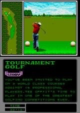 Arnold Palmer Tournament Golf Arcade Hit the ball.
