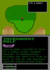 Arnold Palmer Tournament Golf Arcade A bogey.