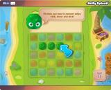 Jelly Splash Browser Game start - A short tutorial on how to play the game. Click on one jelly and connect the rest of them.