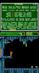Metroid Arcade Aliens to shoot.