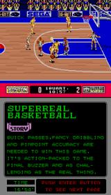 Pat Riley Basketball Arcade Trying to shoot.