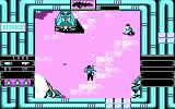 Heavy Barrel DOS Enemy cannon (CGA)