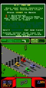 R.C. Pro-Am Arcade Next race.