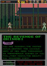 The Revenge of Shinobi Arcade Let's go.
