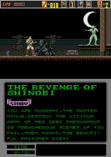 The Revenge of Shinobi Arcade Kill him.