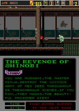 The Revenge of Shinobi Arcade In a house.