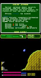 Solar Jetman: Hunt for the Golden Warpship Arcade Looking for a probe.