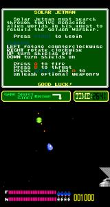 Solar Jetman: Hunt for the Golden Warpship Arcade An alien to blast.