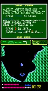 Solar Jetman: Hunt for the Golden Warpship Arcade There's a probe.