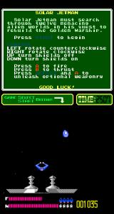 Solar Jetman: Hunt for the Golden Warpship Arcade Success.