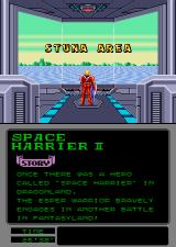 Space Harrier II Arcade Stuna Area.