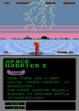Space Harrier II Arcade Lightning.