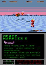 Space Harrier II Arcade Here comes the area boss.