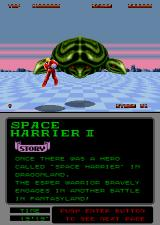 Space Harrier II Arcade Blast his heads.