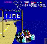 Speed Buggy Arcade A Time gate to boost your time.