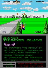 Super Thunder Blade Arcade Killed.