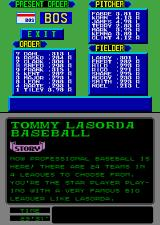 Tommy Lasorda Baseball Arcade Your Team.