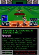 Tommy Lasorda Baseball Arcade Here comes the pitch.