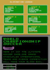 World Championship Soccer Arcade Your in Group F.