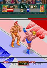 Wrestle War Arcade High kick.