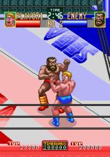 Wrestle War Arcade Punch to the head.