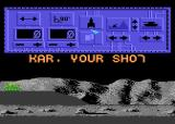 T-34: The Battle Atari 8-bit Player on turn