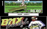 BMX Freestyle Commodore 64 Try to clear your friends.