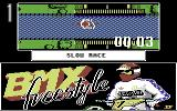 BMX Freestyle Commodore 64 Don't fall off.