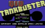 Q10 Tankbuster Commodore 64 Title Screen.