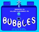 Bubbles Arcade Title Screen.