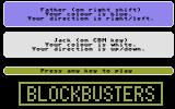 Blockbusters Commodore 16, Plus/4 The players.