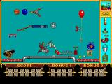 The Incredible Machine DOS You can create machines in free form mode