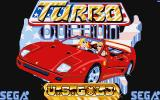 Turbo Out Run Amiga Title screen