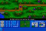 Medieval Warriors Amiga The blue army is awaiting orders