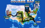 Turbo Out Run Amiga The course map
