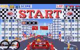 Turbo Out Run Amiga The start of the race
