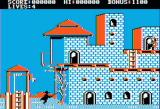 Zorro Apple II Game start