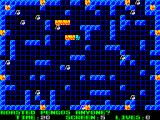 Pyromania: Trial By Fire ZX Spectrum Level 5, with penguins