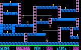 Lode Runner Sharp X1 Level 2 introduces a couple places you cannot dig