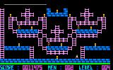 Lode Runner Sharp X1 Level 4 and lots of ladders