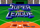 Tommy Lasorda Baseball Genesis Japanese / European title screen
