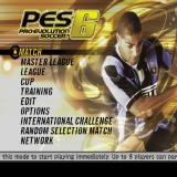 Winning Eleven: Pro Evolution Soccer 2007 PlayStation 2 The game's main menu. There is banner text running across the bottom of the screen giving context sensitive messages